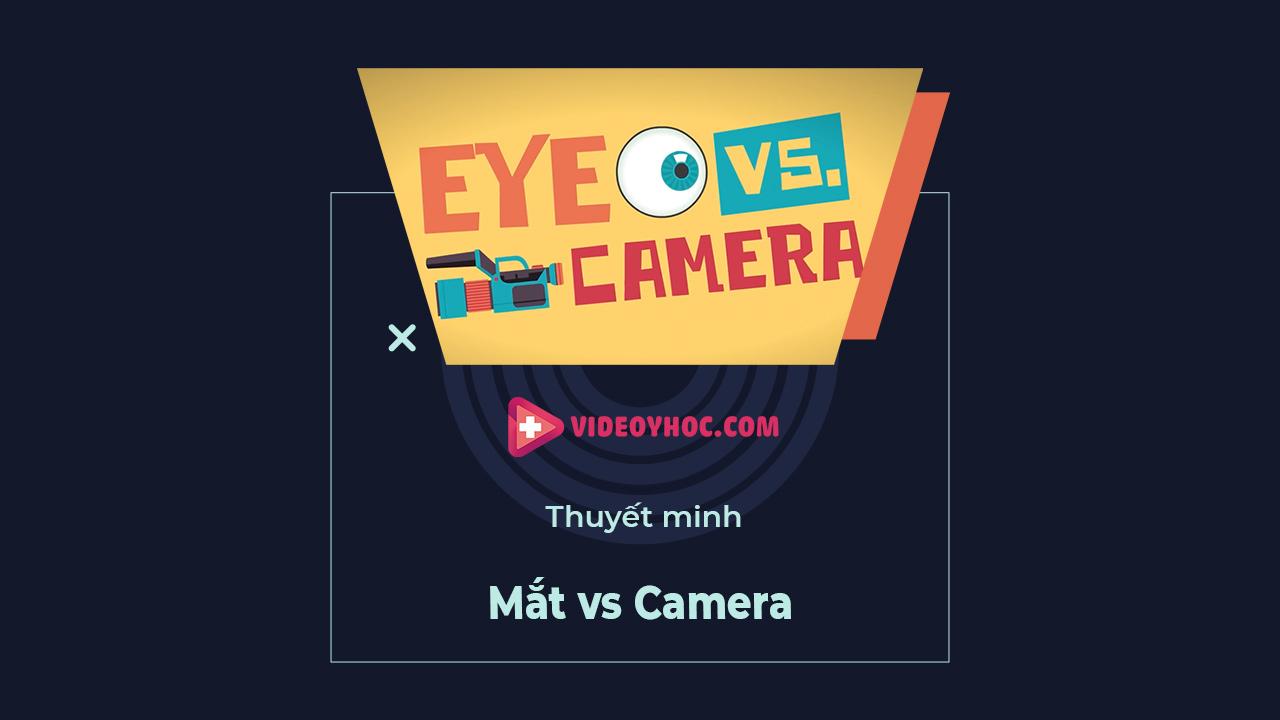Mắt v.s Camera